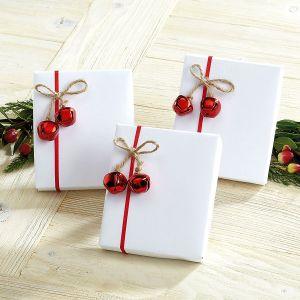 Jute Jingle Bell Package Tie Ons