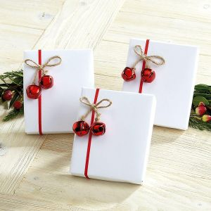 Jute Jingle Bell Package Tie Ons