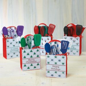 Christmas Cheer Felt Treat Bags