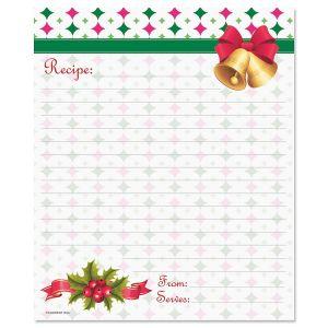 "So Sweet Recipe Cards - 6 x 5"""