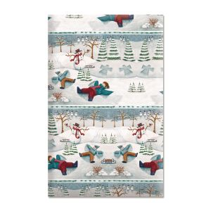 Snow Days Jumbo Rolled Gift Wrap