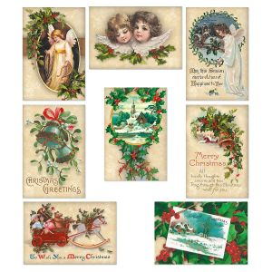 Victorian Christmas Note Cards