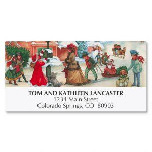 Victorian Village Address Labels