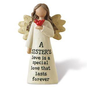 A Sister's Love Angel Figurine