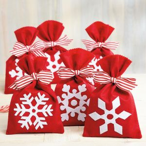 Snowflake Treat Bags