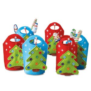 Tree Ornament Party Treat Bags