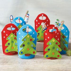 Tree Ornament Treat Bags