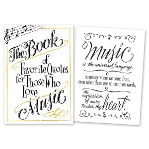 Book of Favorite Music Quotes