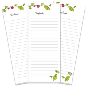 Ladybugs Lined Shopping List Pads