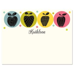 Geometric Apples Correspondence Cards