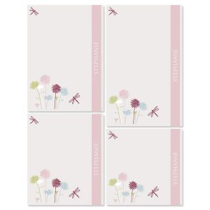 Dragonfly Notepad Set