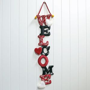 Valentine Welcome Door Banner