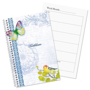 Exotic Prints Personalized Weekly Planner