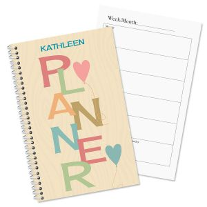 Natural Personalized Weekly Planner