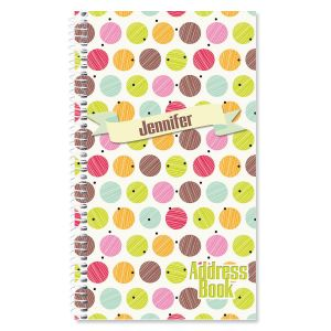 Doodle Dots Lifetime Address Book