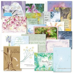 Mega Sympathy Greeting Cards Value Pack