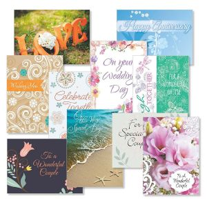 Wedding & Anniversary Cards Value Pack