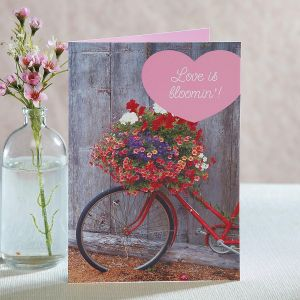 Bicycle Valentine Cards