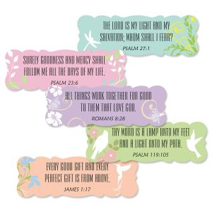 Pastel Scripture Stickers - BOGO