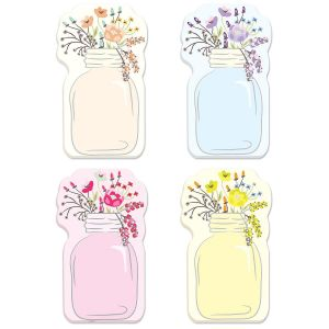 Mason Jar Sticky Note Pads
