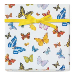 Butterfly Dreams Jumbo Rolled Gift Wrap