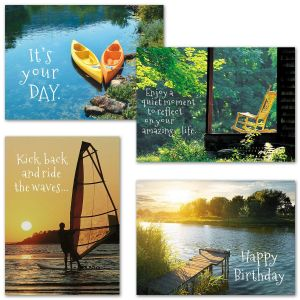 Relax It's Your Day Birthday Cards & Seals