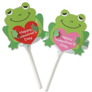 Flopping Frog Lollipop Covers