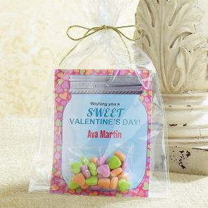 Candy Jar Valentine Cards