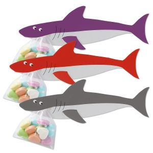 Shark Candy Holder Valentines