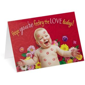 Baby Kisses Valentines Cards