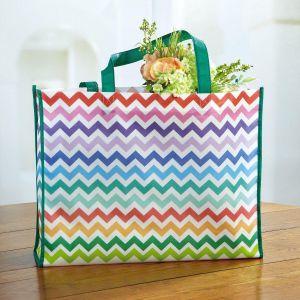 Colorful Chevron Tote Bag
