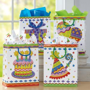 Colorful Celebration Gift Bags