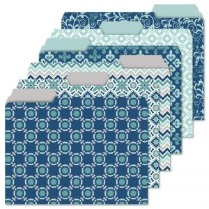 Coastal Patterns File Folder Value Pack