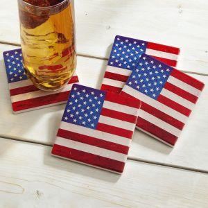 Flag Coasters