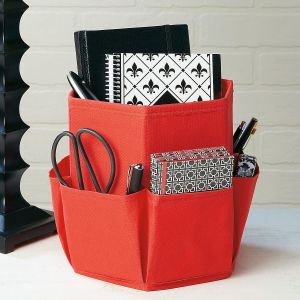 Desk Caddy with Side Pockets