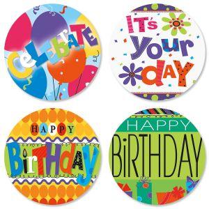 Bright & Bold Birthday Seals