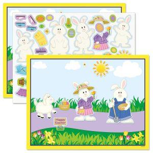 Bunny Sticker Scenes