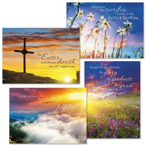 Faith Sunrise Easter Cards