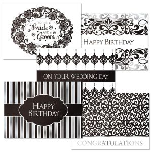 Deluxe Elegance in Black All-Occasion Cards