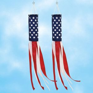 Stars & Stripes Windsock