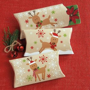 Kraft Reindeer Gift Card Holders
