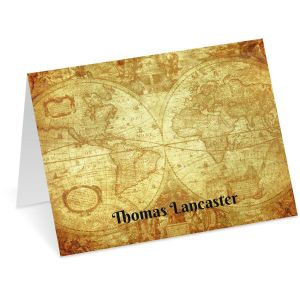 Old World Note Cards