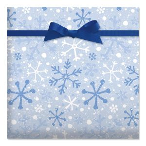 Frosty Morning Jumbo Rolled Gift Wrap