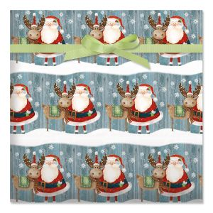 Christmas Chums Jumbo Rolled Gift Wrap