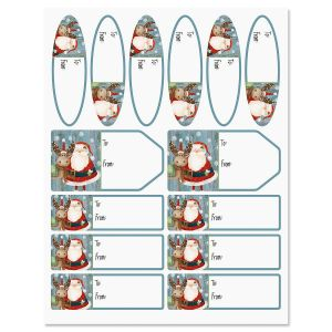 Christmas Chums Labels