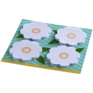 Daisy Sticky Notes on Designed Backer