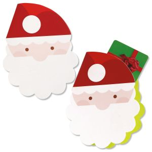 Santa Gift Card Holders with Envelopes