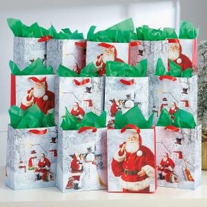 Christmas Santa Bag Value Pack