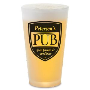 Pub Personalized Pint Beer Glass