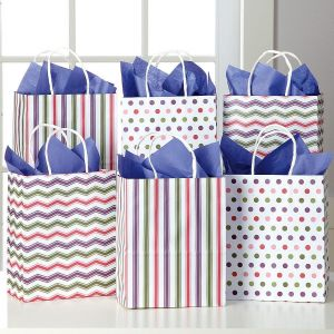 Candy Stripes & Dots Gift Bags
